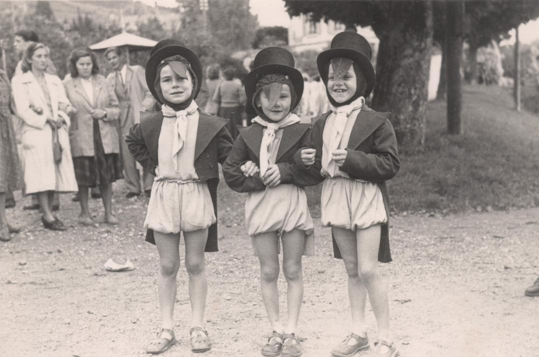 1949 Cortège - Fête des Vendanges Lutry